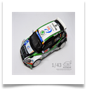 Fabia s2000 whitebox 1/43